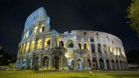 Colosseum en el crepúsculo almacen de video