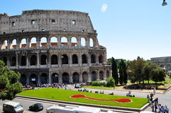 Colosseum en Italie Photos stock