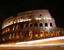 Colosseum en la noche Imagen de archivo libre de regalías