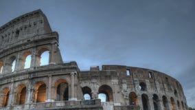 Colosseum en la puesta del sol metrajes