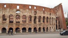 Colosseum en Roma almacen de video