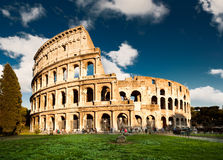 Colosseum en Roma, Italia Fotos de archivo