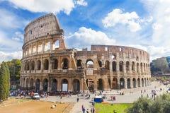 Colosseum en Roma, Italia Foto de archivo libre de regalías