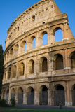 Colosseum facade Stock Photo