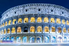Colosseum famoso fotografía de archivo