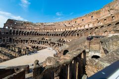 Colosseum famoso fotografie stock