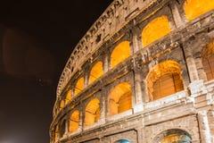 Colosseum famoso durante la igualación de horas Fotografía de archivo