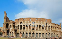 The Colosseum, famous ancient amphitheater in Rome Stock Photography