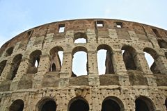 Colosseum Flavian Amphitheater Rome Italy Royalty Free Stock Photography