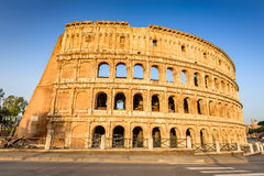 Colosseum, Flavian Amphitheatre in Rome, Italy stock photography