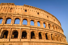 Colosseum, Flavian Amphitheatre in Rome, Italy Royalty Free Stock Photo