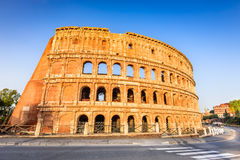 Colosseum, Flavian Amphitheatre in Rome, Italy Royalty Free Stock Photos