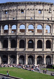 Colosseum-front-Rome-Italy Royalty Free Stock Images