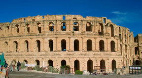 Colosseum in Gr Jem Stock Afbeelding