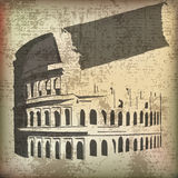 Colosseum grunge Royalty Free Stock Photo
