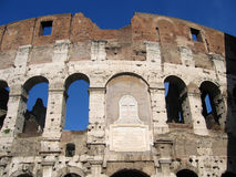Colosseum - haut proche Image stock