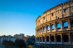 Colosseum i Rome i Rome Arkivbilder