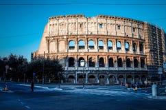 Colosseum i Rome i Rome, ITALIEN, Europa Arkivbilder
