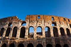 Colosseum i Rome, Italien Arkivbilder