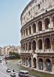 Colosseum i Rome, Italien Arkivbild