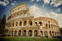 Colosseum i Rome, Italien Royaltyfria Foton
