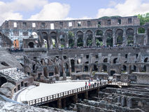 The Colosseum is the iconic symbol of the city of Rome Italy Royalty Free Stock Image