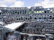 The Colosseum is the iconic symbol of the city of Rome Italy Royalty Free Stock Images