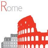 Colosseum illustration Arkivbilder