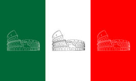 Colosseum  illustration Royalty Free Stock Photography