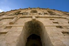 Colosseum In El Jem Royalty Free Stock Photo