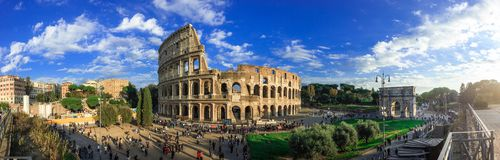 Free Colosseum In Rome Royalty Free Stock Photography - 136461427