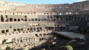 Colosseum-Innenraum-Video stock footage