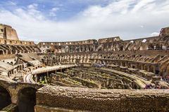 colosseum inom Royaltyfri Fotografi