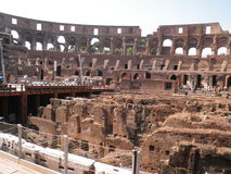 Colosseum from inside Stock Images