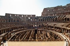 Colosseum inside. podium view Royalty Free Stock Images