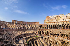 The Colosseum (inside) in Rome Stock Image