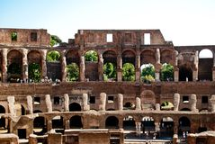 Colosseum inside. side view. Stock Photography