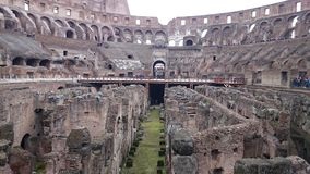 Colosseum inside view royalty free stock photo
