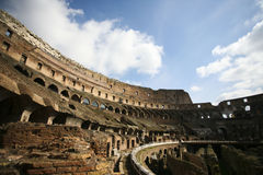 Colosseum Interior Royalty Free Stock Photography