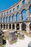 Colosseum interior Foto de archivo
