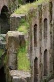 Colosseum interior - detalles Foto de archivo