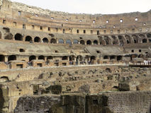 Colosseum Interior Royalty Free Stock Image