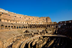 Colosseum Internal Royalty Free Stock Photo