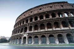Colosseum Italy. Architecture of colosseum or coloseum at Rome Italy Royalty Free Stock Photo