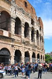 Colosseum in Italy Stock Image