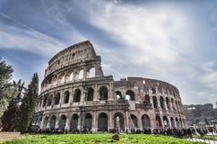 colosseum italy rome Royaltyfria Bilder