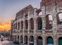 colosseum italy rome Arkivfoto