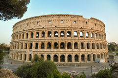 Colosseum in Italy, Rome Royalty Free Stock Photos