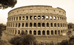 Colosseum in Italy, Rome Stock Photos