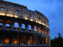 Colosseum la nuit Image stock